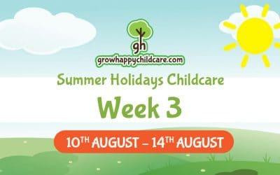 Summer Holidays Childcare – Week Three