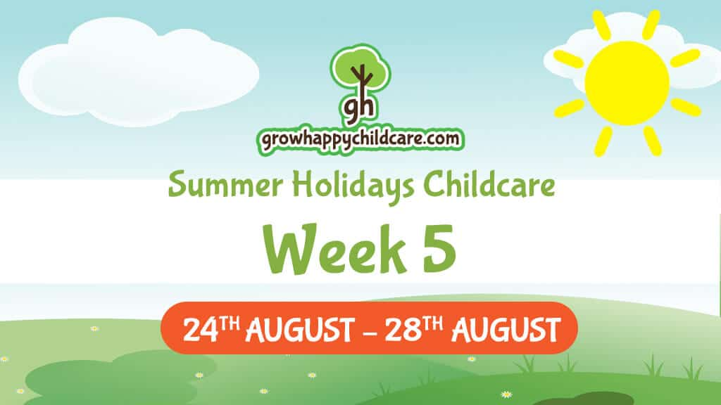 Summer Holidays Childcare – Week Five